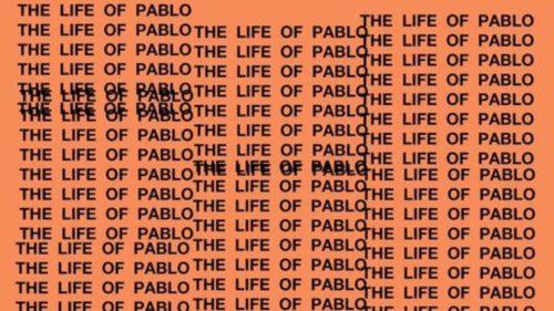 RIAA Platinum The Life of Pablo Album Cover